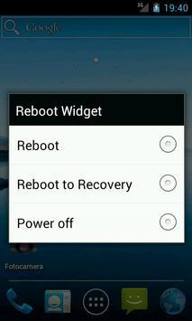 Reboot Widget poster