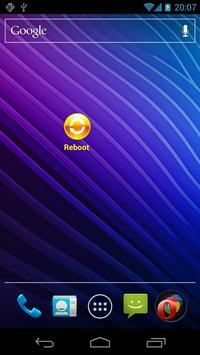 Reboot Widget screenshot 1