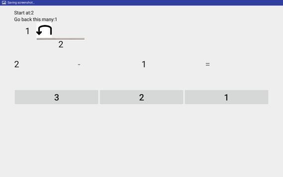 Learn to subtract apk screenshot
