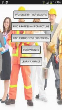Learn professions (free) poster