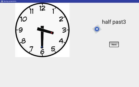 Telling Time apk screenshot