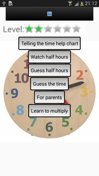 Telling Time apk screenshot