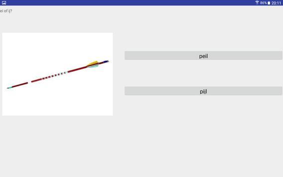 Taal leren groep 4 (gratis) screenshot 8