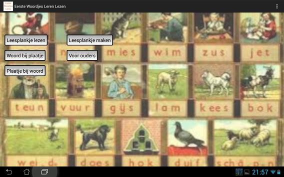 Woordjes leren (gratis) apk screenshot