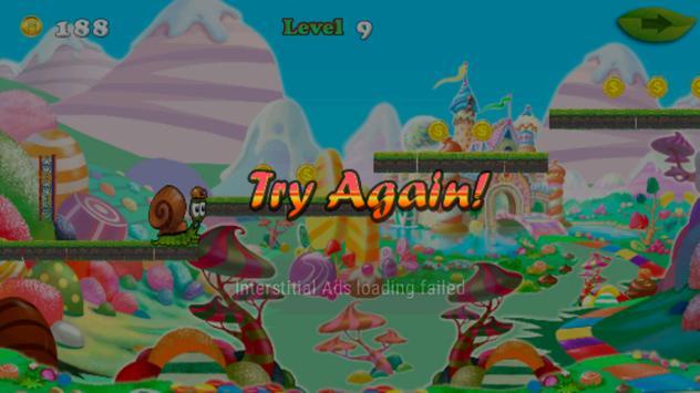 snail candy bob apk screenshot