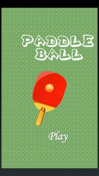 Paddle Ball poster