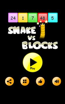 Snake Ballz Vs  Puzzle Blocks poster