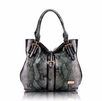 snakeskin purse for women poster
