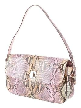 snakeskin purse for women screenshot 13
