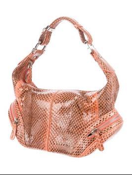 snakeskin purse for women screenshot 23