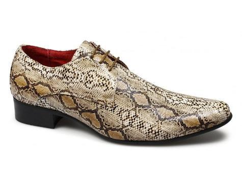 snakeskin shoes for men poster