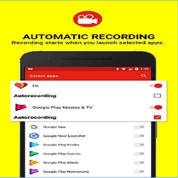 Snap Recorder Screen poster