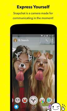 Snapchat 海报