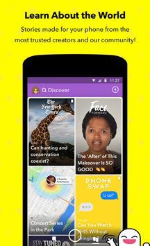 Snapchat apk स्क्रीनशॉट
