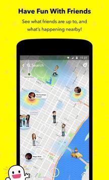 Snapchat apk تصوير الشاشة