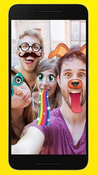 filters for snapchat : sticker design poster