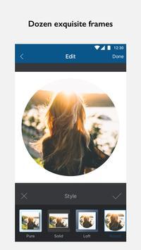 InFrame - Photo Editor & Pic Frame apk screenshot