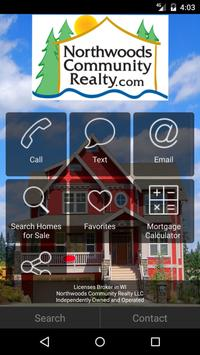 Northwoods Community Realty poster