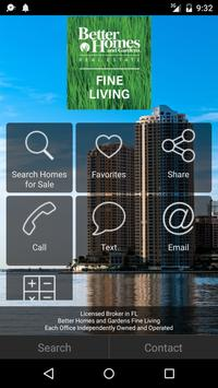 Better Homes and Gardens Fine Living poster