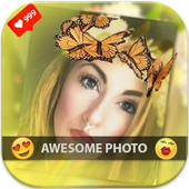 Snap photo stickers & filters icon