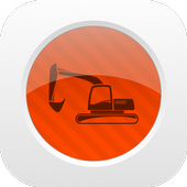 Track Construction Equipment icon