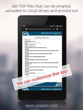 Manufacture Inspection apk screenshot