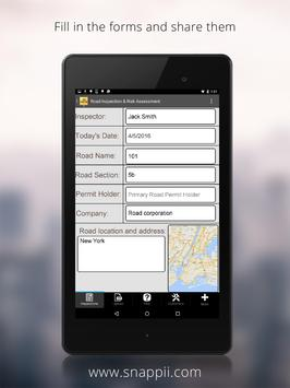 Road Inspection App screenshot 1