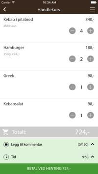Balkan pizza og kebab house apk screenshot