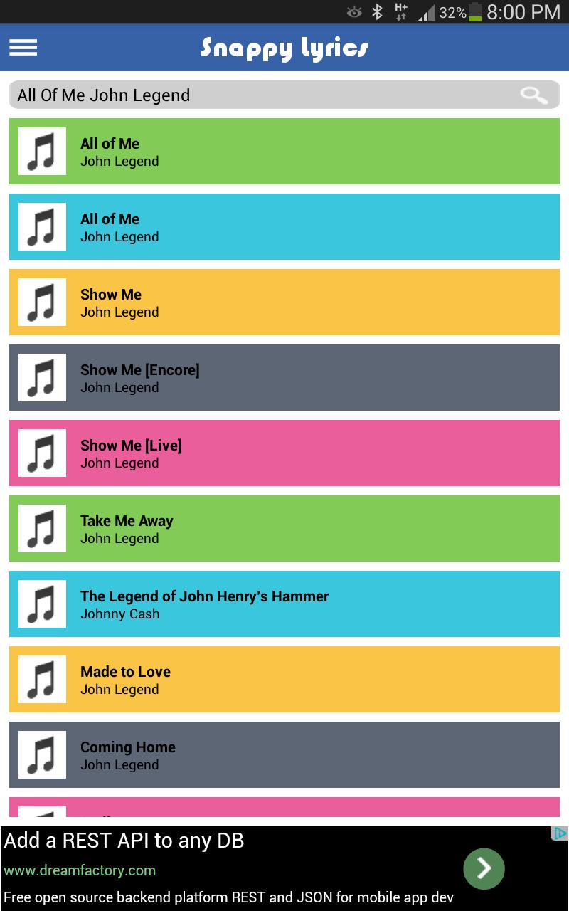 Snappy Lyrics for Android - APK Download