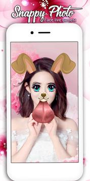snappy Photo Editor Camera - Filters & Stickers screenshot 4