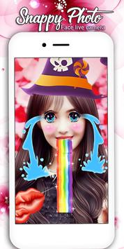 snappy Photo Editor Camera - Filters & Stickers screenshot 8