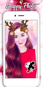 snappy Photo Editor Camera - Filters & Stickers screenshot 10