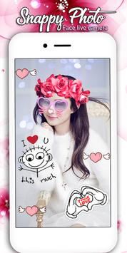 snappy Photo Editor Camera - Filters & Stickers screenshot 11