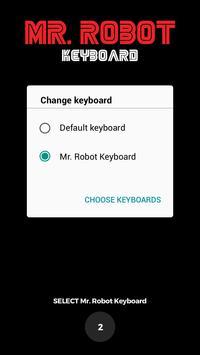 Mr. Robot Keyboard screenshot 1