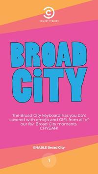 Broad City Keyboard poster