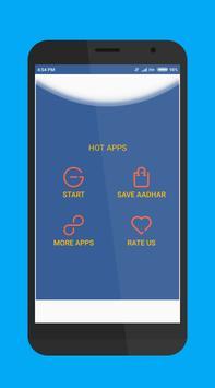 Aadhar scanner poster
