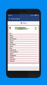 Aadhar scanner screenshot 4