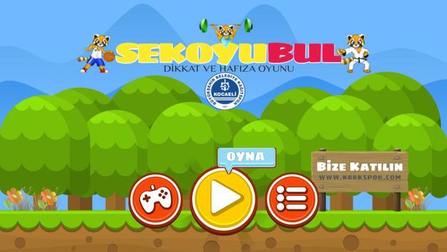 Sekoyu Bul Çocuklar için Dikkat ve Hafıza Oyunu screenshot 10