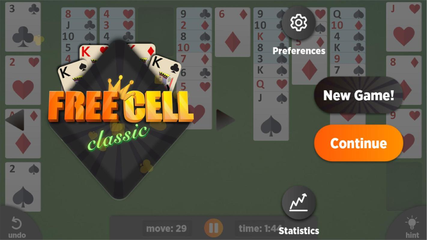 Freecell - Offline Free Solitaire Games For Android - Apk -8818