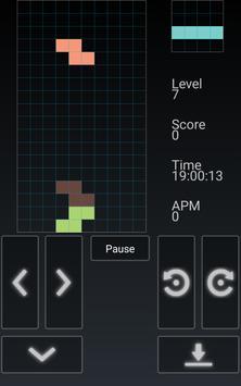 Blockinger - Tetris game poster