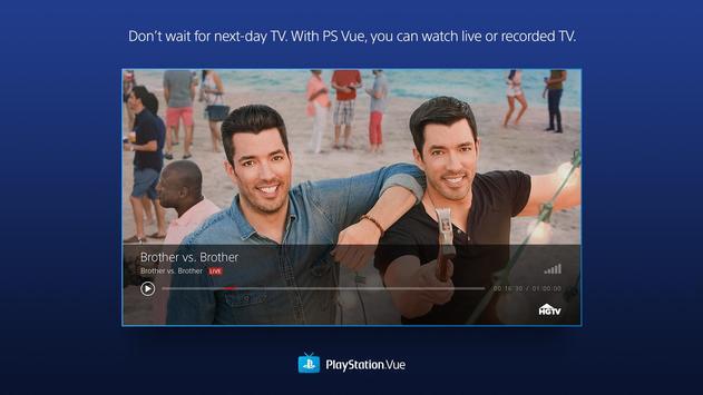 PlayStation Vue poster