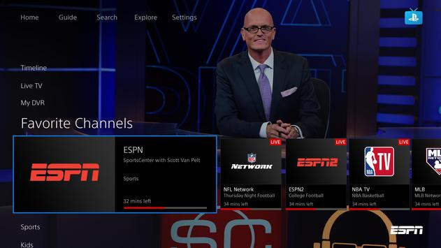 PlayStation Vue apk screenshot