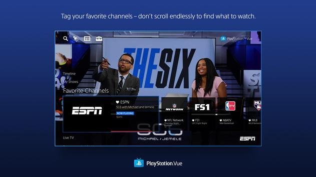 PlayStation Vue apk screenshot