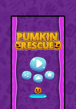 🎃 Halloween Pumpkin Rescue: Gravity Tap Challenge poster