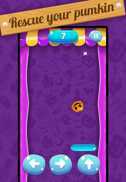 🎃 Halloween Pumpkin Rescue: Gravity Tap Challenge screenshot 1