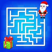 Kids Maze : Educational Puzzle Christmas icon