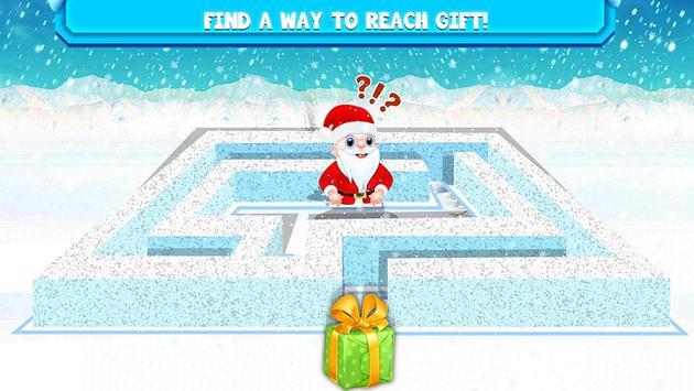 Kids Maze : Educational Puzzle Christmas screenshot 5