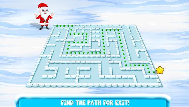 Kids Maze : Educational Puzzle Christmas screenshot 8