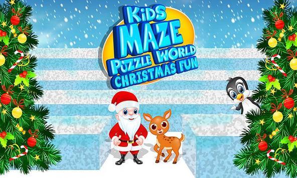 Kids Maze : Educational Puzzle Christmas screenshot 9