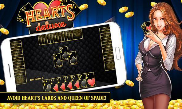 Hearts Deluxe screenshot 11